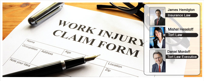 Work injory claim form